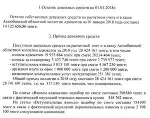 Сумма взносов в адвокатскую палату москвы