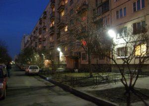 Освещение дворовой территории многоквартирного дома