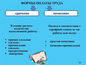 Форма оплаты по договору какие бывают