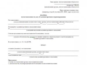Порядок обжалования протокола об административном правонарушении в суде
