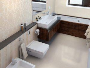 Можно ли расширить ванную комнату за счет коридора