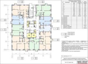 Где узнать общую площадь многоквартирного дома по адресу