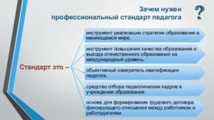 Профстандарт учителя дефектолога 2020 утвержденный правительством рф