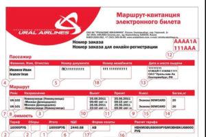 Уральские авиалинии возврат электронного билета сколько удерживают
