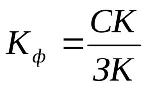Коэффициент краткосрочной задолженности формула по балансу по строкам