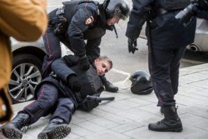 Наказание за нападение на полицейского при исполнении статья