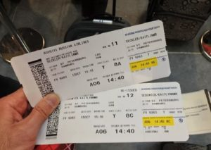Как проверить посадочный талон на самолет