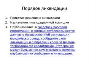 Ликвидация муниципального унитарного предприятия пошаговая инструкция