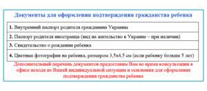 Какие документы нужны для принятия российского гражданства ребенку в крыму