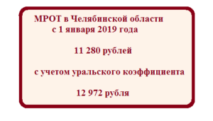 Уральский коэффициент в челябинской области 2020
