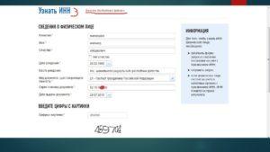 Как найти паспортные данные по инн физического лица