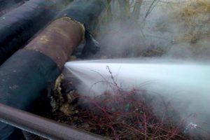 Как правильно порыв или прорыв трубопровода