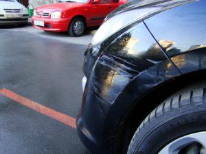 Что делать если притерли машину во дворе и уехали