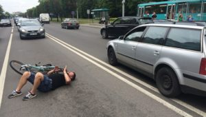 Какая статья сбил человека на машине