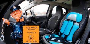 Бескаркасные детские автокресла разрешены гибдд в 2020