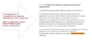 Как написать заявление в кадастровую палату о устранении кадастровой ошибки