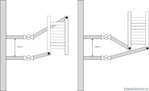 Правила монтажа полотенцесушителя в многоэтажном доме