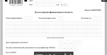Какие страницы заполненять приподаче нулевого бухгалтерского отчета кнд 0710099